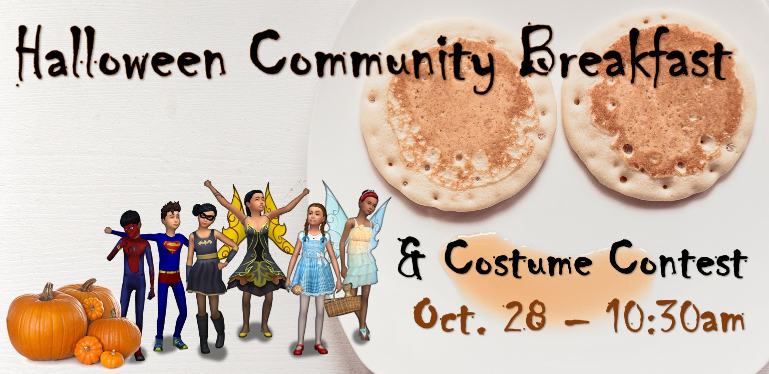 Halloween Community Breakfast