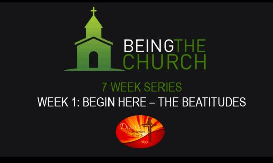 Begin Here – The Beatutudes