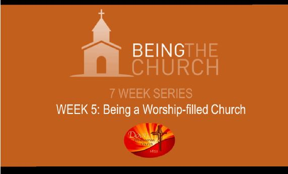 Being a Worship-filled Church