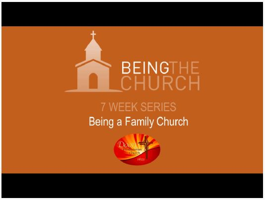 Being a Family Church