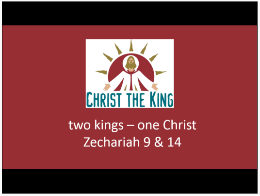 Two Kings – One Christ