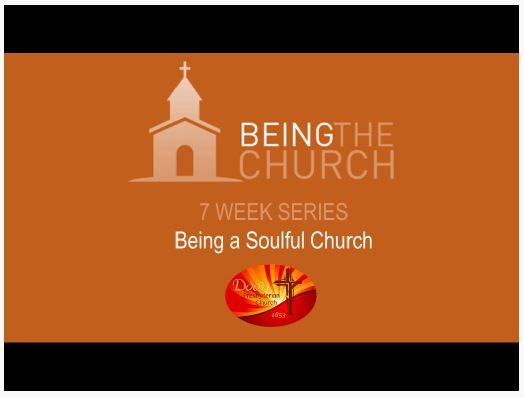 Being a Soulful Church
