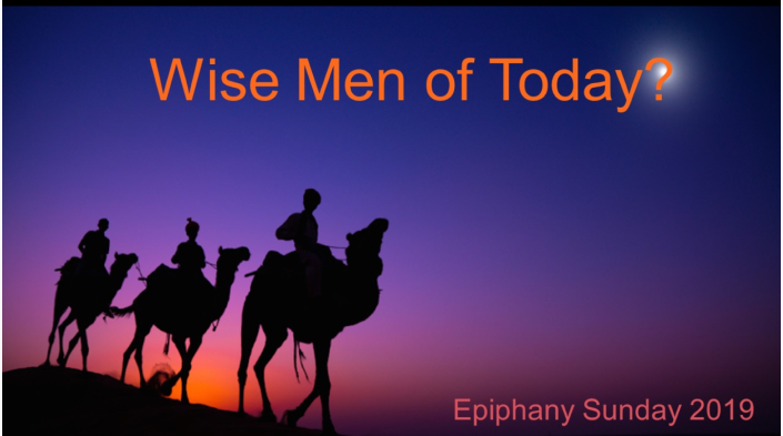 Wise Men of Today?