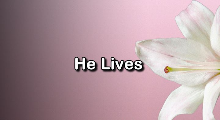[Easter Sunday] He Lives