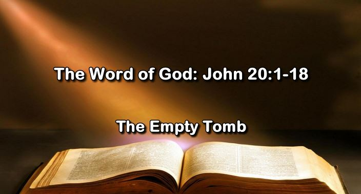 [Easter Sunday] The Word of God